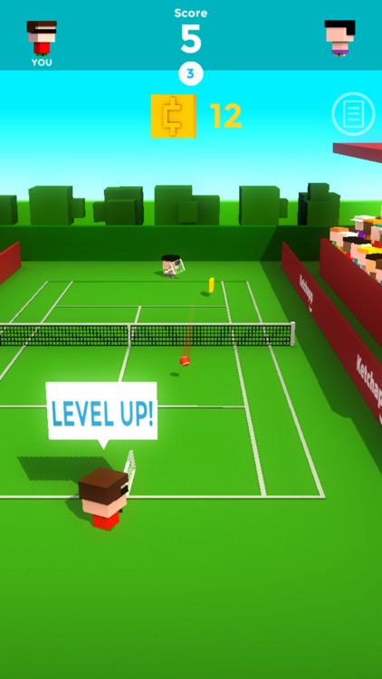 Ketchapp Tennis screenshot-2