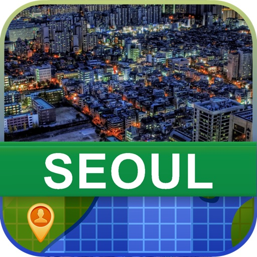 Offline Seoul, Korea Map - World Offline Maps icon