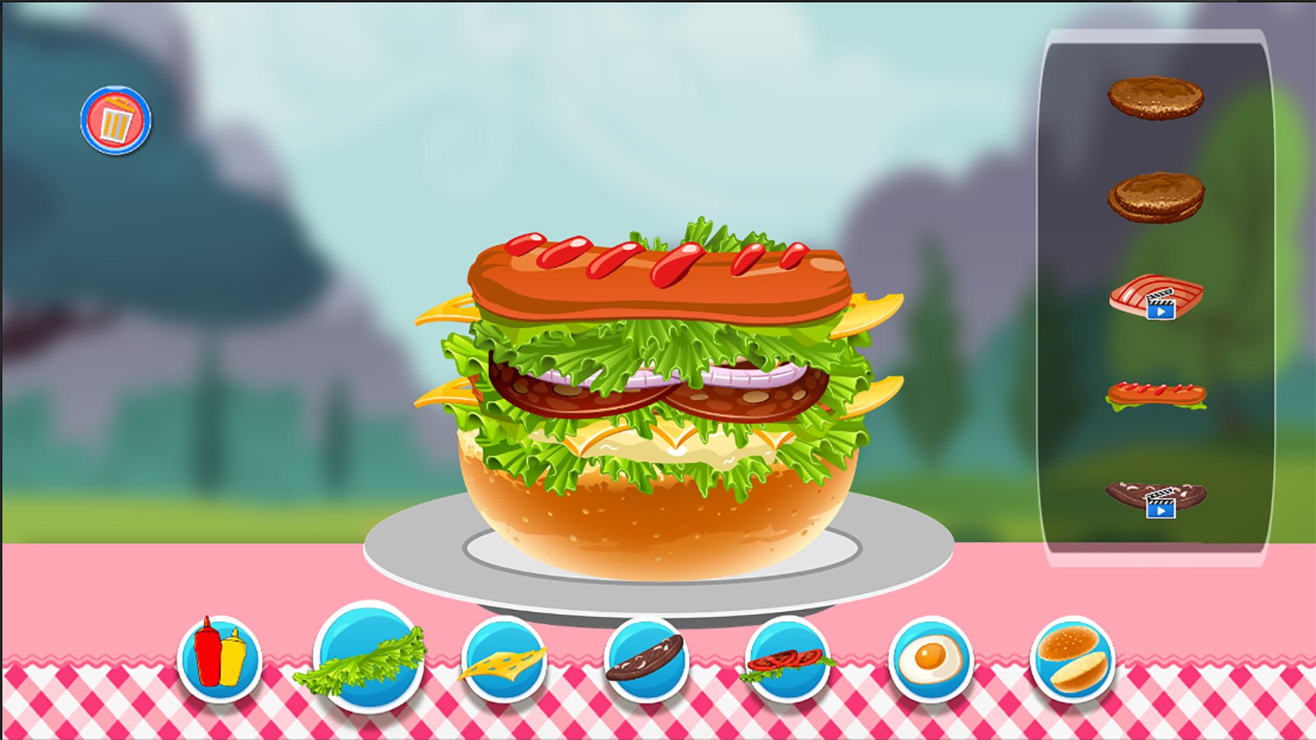 Burger Maker Pro 2016 screenshot 2