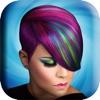 发型 设计 软件 图片 应用 - 美丽 美发沙龙 - 流行 理发 相架 蒙太奇 遊戲