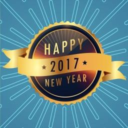 New Year Best Wishes - Fc Sticker