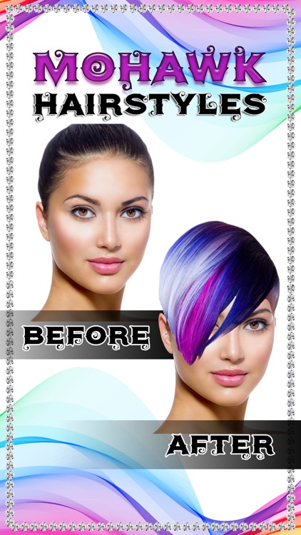 Hairstyle Makeover Photo Edit.or - Cool Hair Salon screenshot-4
