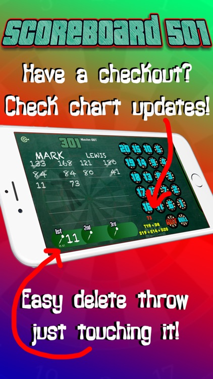 Darts Scorekeeper 501 x01 screenshot-3