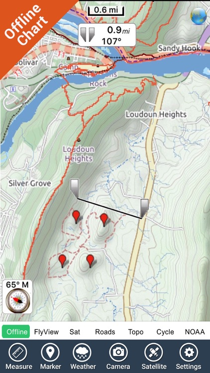 Harpers Ferry National Park - GPS Map Navigator