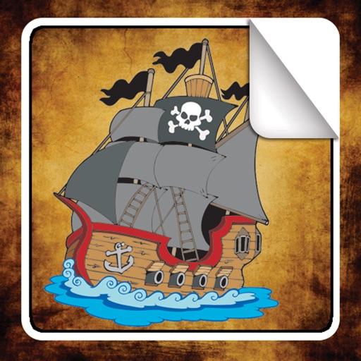 Pirate Sticker Book!