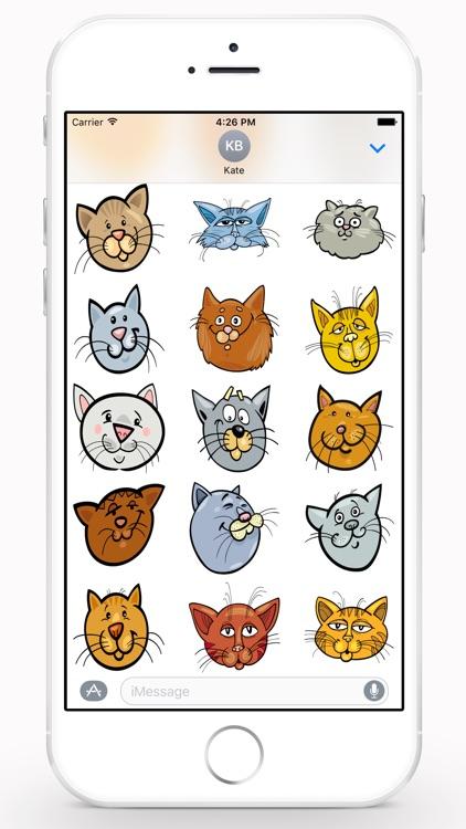 CatMoji Sticker Pack screenshot-4