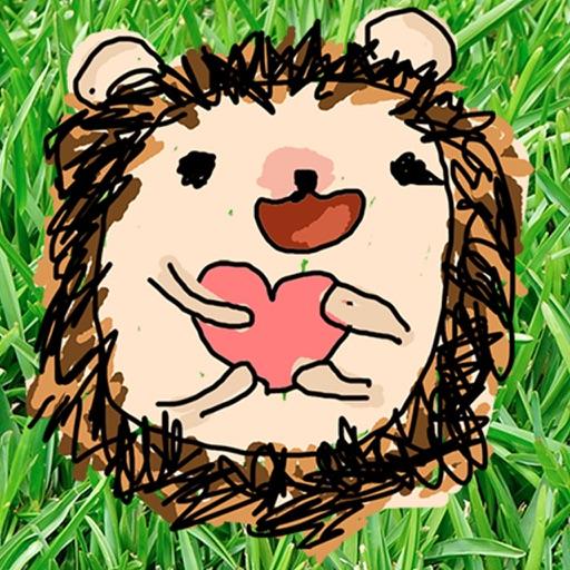 Harold the Hedgehog Stickers