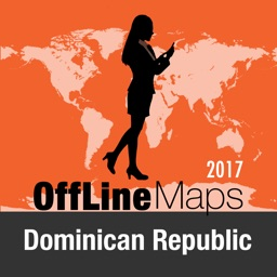 Dominican Republic Offline Map and Travel Trip