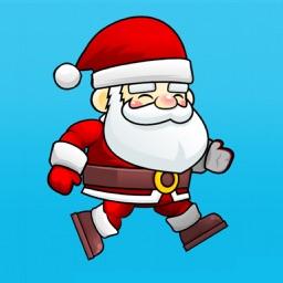 Santa stickers tracker