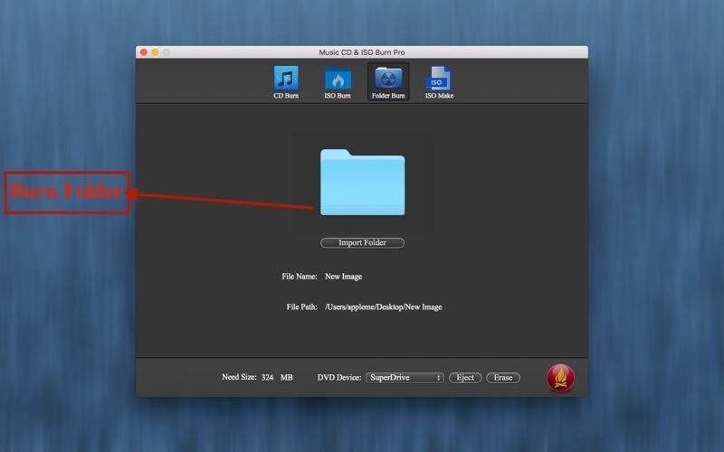 Music CD & ISO Burn Pro for Mac