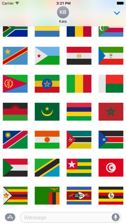Africa Stickers
