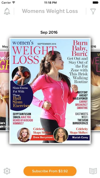 Women's Weight Loss Magazine