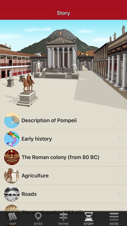 Pompeii Map - Offline Travel Guide screenshot-3