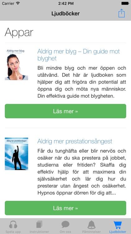 Sluta stamma med hypnos screenshot-4