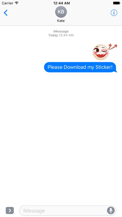 Funny Circle Face Stickers Pack