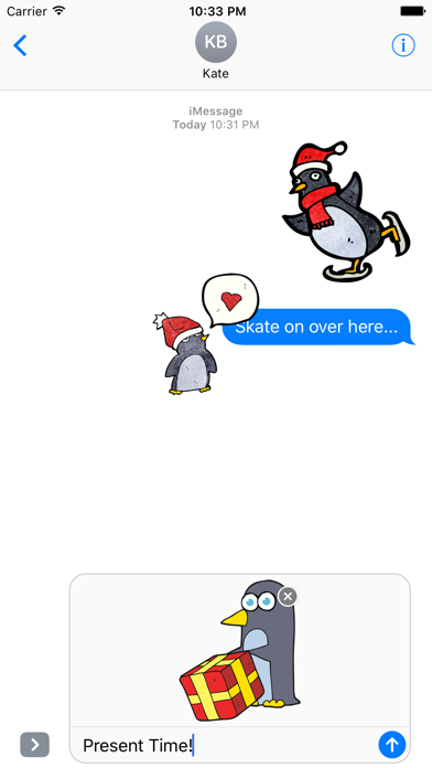Christmas Penguins! The DoodleBomb Collection screenshot one