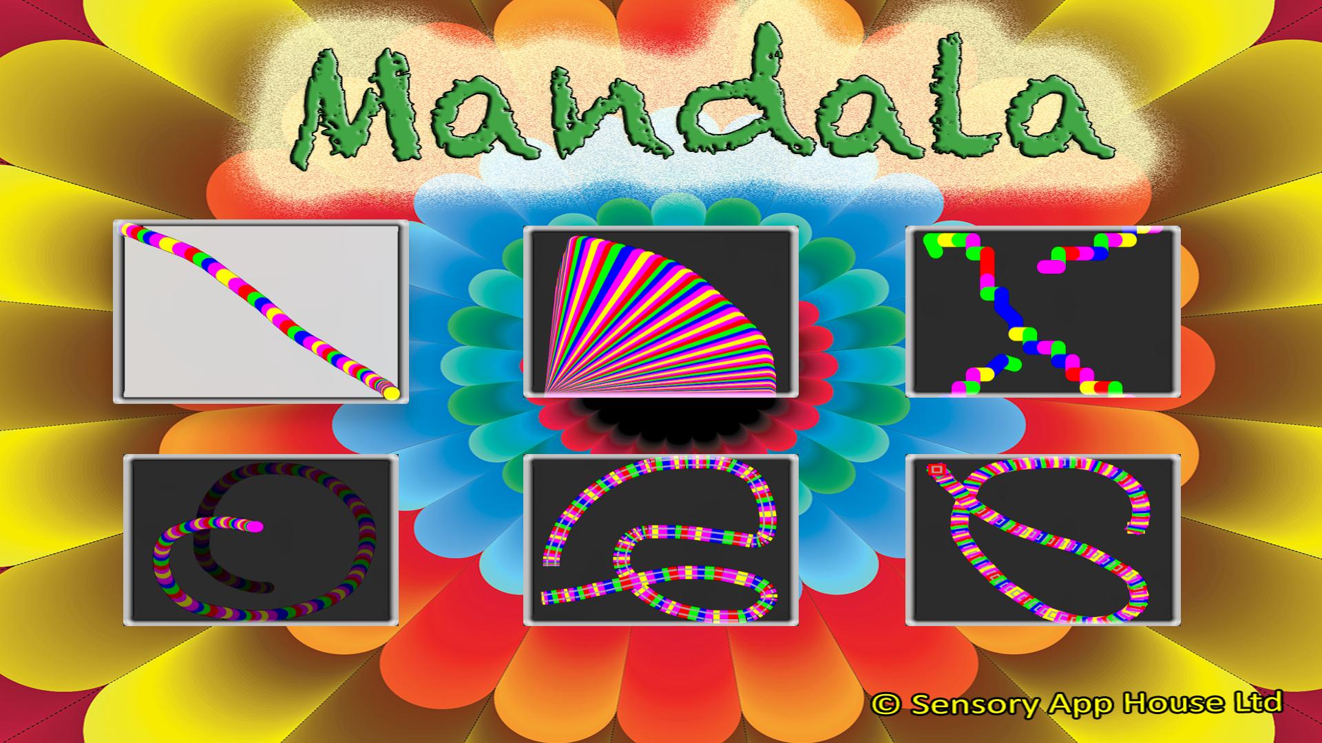 Sensory Mandala screenshot 1