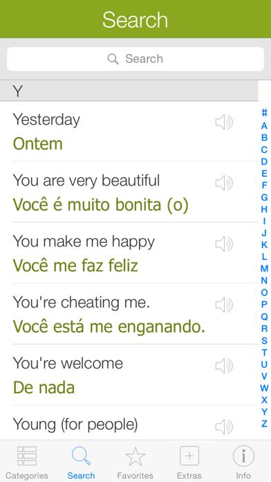 Portuguese Pretati - Speak with Audio Translation screenshot four