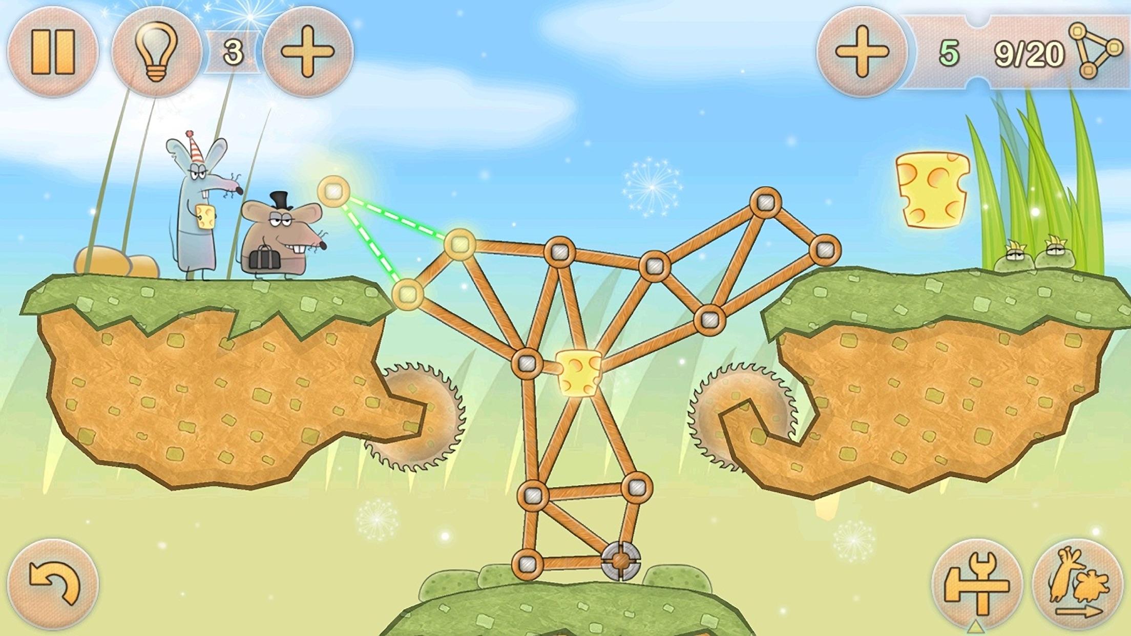 Tiny Bridge: Ratventure HD Screenshot