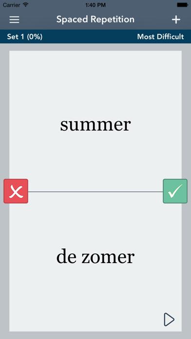 Learn Dutch - AccelaStudy® screenshot three