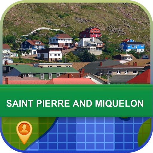 Saint Pierre and Miquelon Map - World Offline Maps