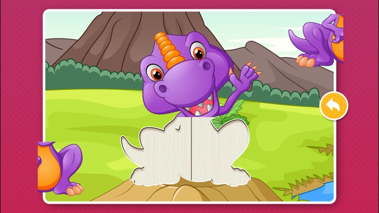 Dinosaur Games: Puzzle for Kids & Toddlers screenshot-2