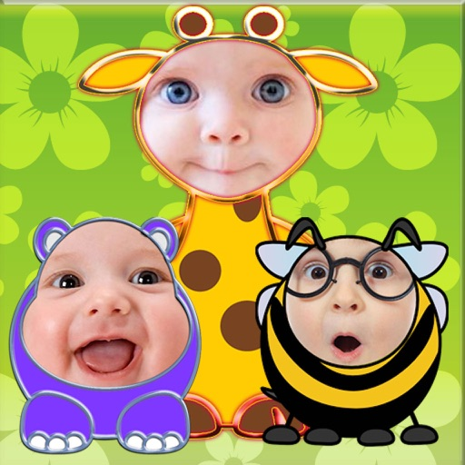 Baby Faces Photo Frames and Stickers
