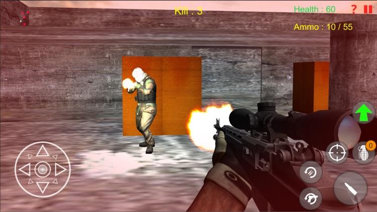 Shooting Terrorist Attack Game
