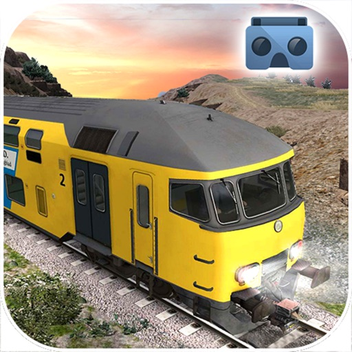 Vr Train Driving Simulator : Virtual Reality 3D