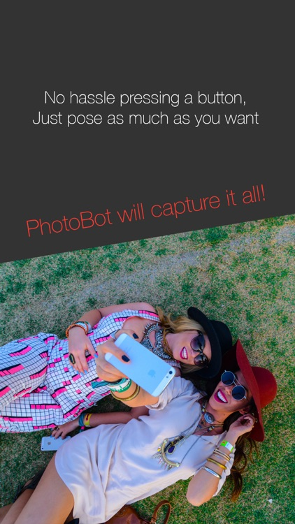 PhotoBot - Take automated selfies