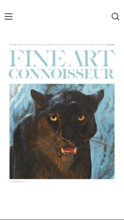 Fine Art Connoisseur Magazine screenshot-3