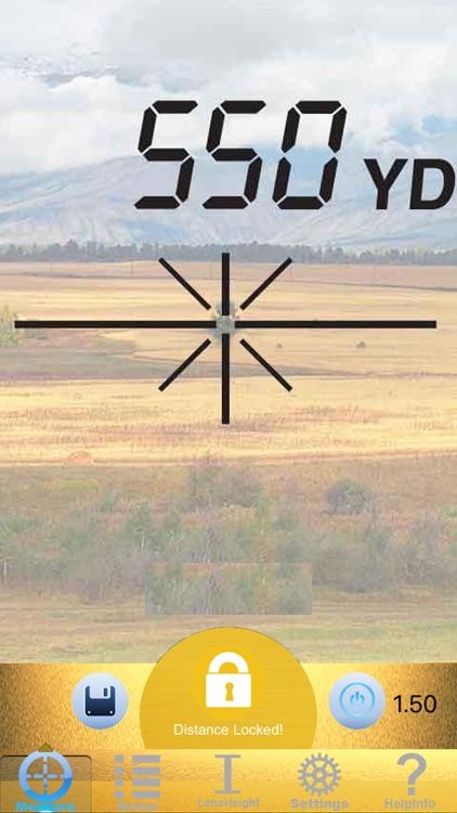 Range Finder - Ballistic Calculator screenshot-3