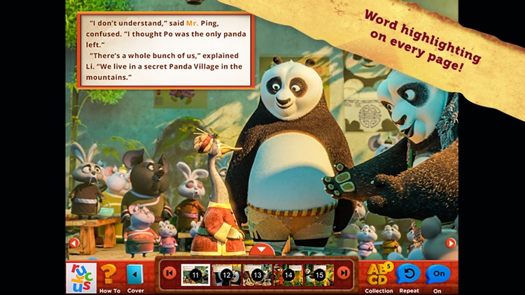 Kung Fu Panda 3: Interactive Storybook screenshot-4