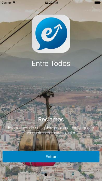 Entre Todos screenshot one