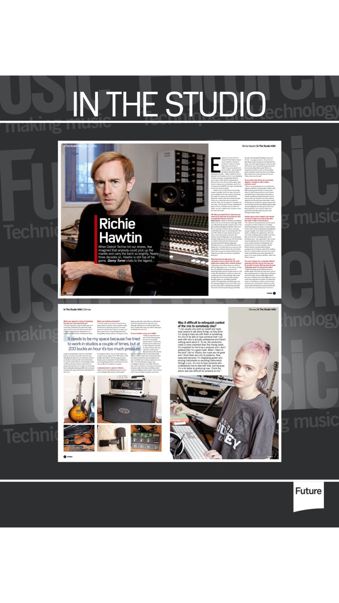 Future Music: for music tech and production Screenshot