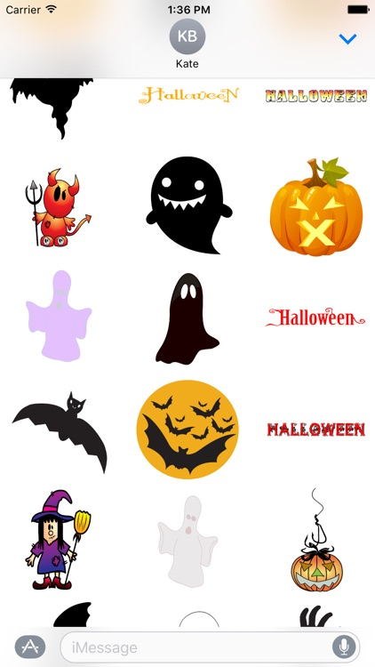 Halloween Stickers and Texts screenshot-3