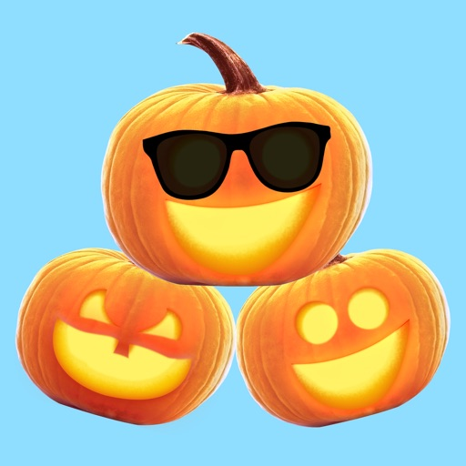 Jack-o-Lantern Halloween Pumpkin Sticker Pack
