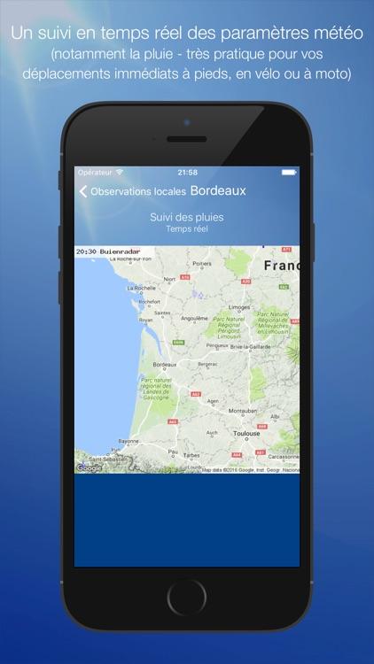 Météo Bordeaux screenshot-3