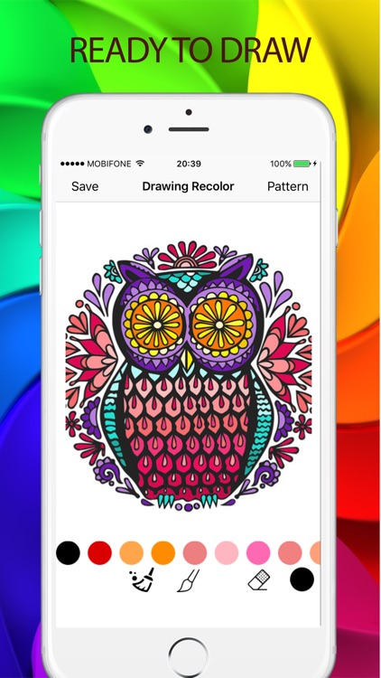 Sketches Color: a relaxing coloring book for kids screenshot-3