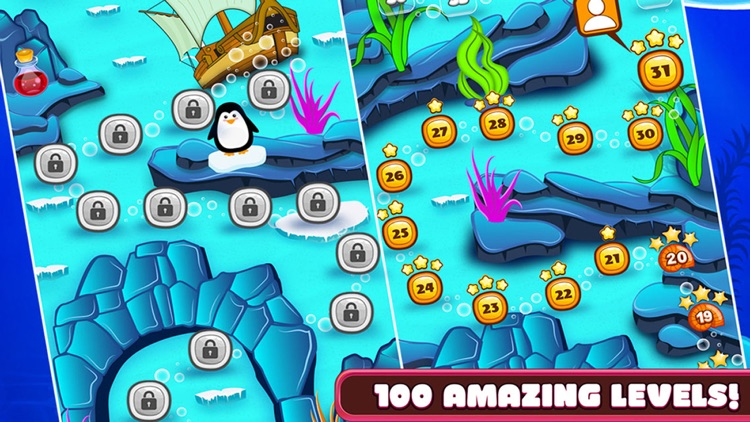 Ocean Heroes - Match 3 Puzzle Game screenshot-4