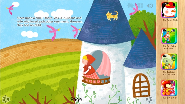 Rapunzel - Bedtime Fairy Tale iBigToy screenshot-0