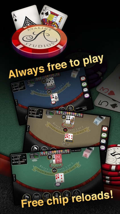 Blackjack Pro: 21 Vegas Casino screenshot-0