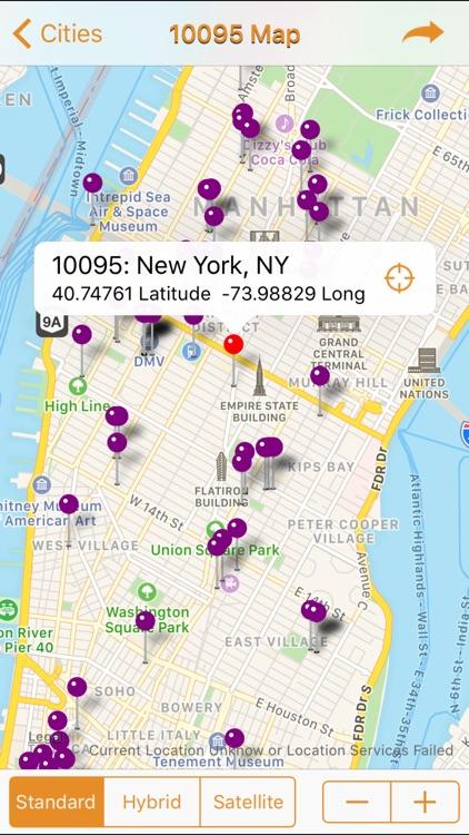 ZIP Finder (USA) screenshot-3