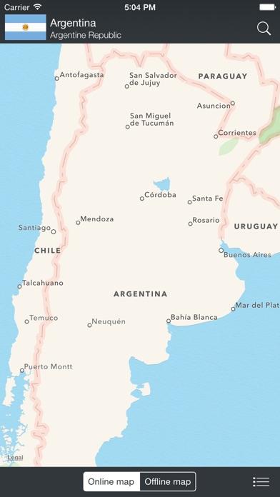 The World Factbook 2012 Screenshot 1