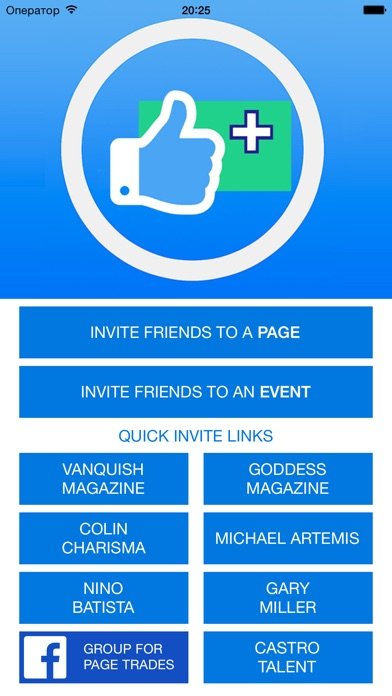 Screenshot for Invite All Friends to a Page in Lebanon App Store