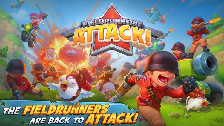 Fieldrunners Attack! screenshot-0