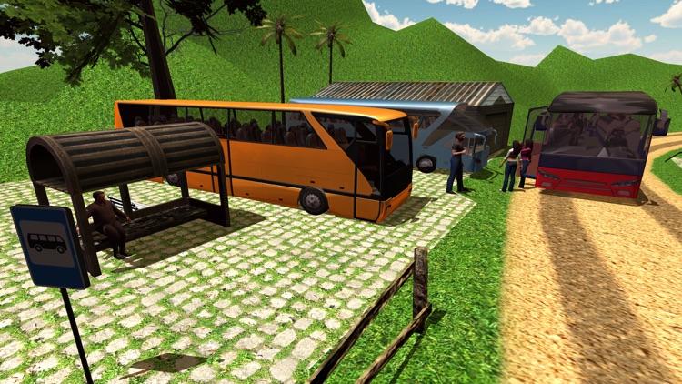 Offroad Tourist Bus Driving Transport Simulator screenshot-3