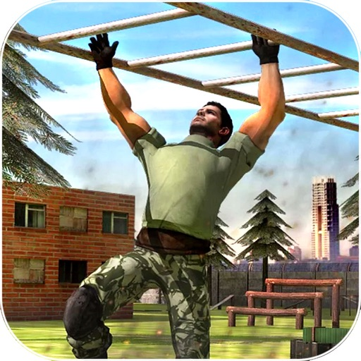 Trained The Soldier : Real Army Train-ing Game-s