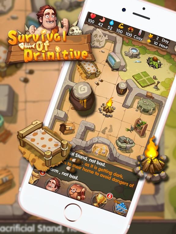 Survival of Primitive для iPad