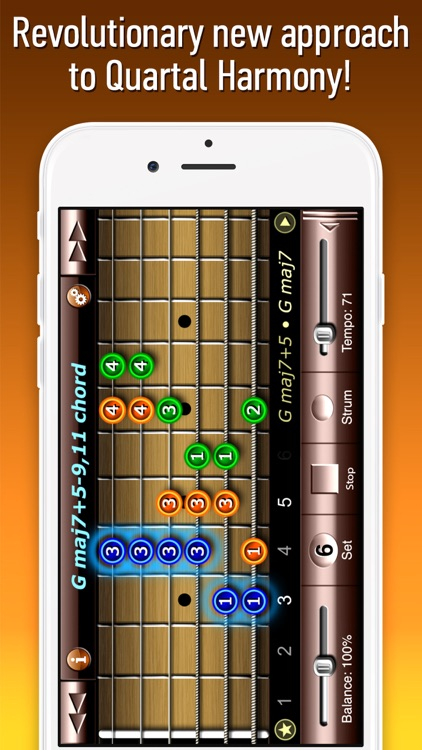 Quartal Harmony Guitar by Fonexsis